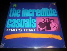 """The Incredible Casuals """"That's That"""" LP   Demon Records – Fiend 77 UK 1987"""