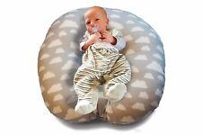 Baby Lounger grau Lagerungskissen Liegekissen Nestchen Kopfkissen Schlafkissen