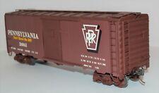 O-Scale 2-Rail Pennsylvania 40-ft Boxcar #24063 from Athearn Kit w/XTRAs NICE!