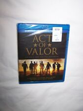 Act of Valor (Blu-ray + DVD 2012, 2-Disc Set) Alex Veadov, Roselyn Sanchez; New