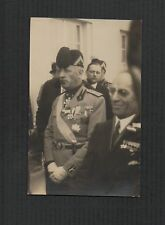 Foto Morskie Oko  Zakl Gdynia c.1932 military /conference  postcard  f257