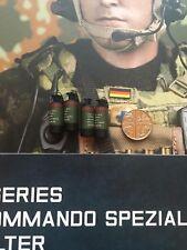 DAMTOYS Alemán KSK assaulter MK13 Flash granadas X 4 suelto no escala 1/6th Real