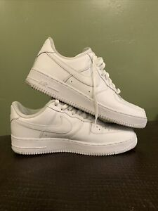 Size 11.5- Nike Air Force 1 '07 White - 315122-111