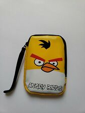 Angry Birds Bag Zipper Pouch for games/Ipods/iPhone storage with wrist strap New