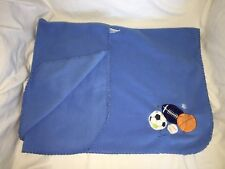 CIRCO Target Blue Baby BLANKET Football Baseball Basketball Soccer SPORTS Stars