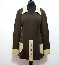 CULT VINTAGE '70 Maglia Donna Jersey Woman T-Shirt Sz.M - 44