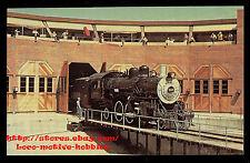 LMH Postcard SANTA FE  2-6-2 Prairie ATSF #1010 CA Railroad Museum  Railfair '81