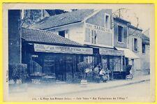 """cpa 94 L' HAY les ROSES (Val de Marne) CAFÉ TABAC """" AU TERMINUS """" Maison VIVIER"""
