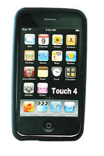 Apple Touch iPod 4th Generation BLACK SILICON CASE