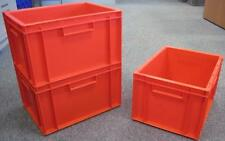 5 New Red Storage Crate Container 20L