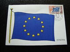 FRANCE - carte 1960 - (conseil de l europe) yt service n° 17 cy2)