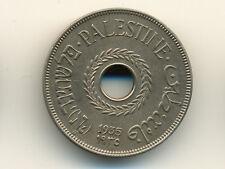 Palestine:KM-5, 20 Mils, 1935 * EF-AU *