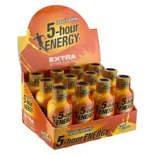 5-Hour Energy Shot, Extra Strength, Peach Mango, 1.93 oz, 24 ct