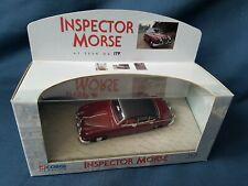 CORGI 01803 1/43 INSPECTOR MORSE JAGUAR 2.4 MKII MAROON RARE 2ND VERSION MINT