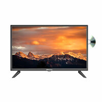 """EMtronics 24"""" Inch HD Ready TV with Built-in DVD and Freeview, HDMI, USB, VGA"""