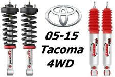 Rancho Loaded Quicklift Front Struts &RS9000XL Rear Shocks For 05-15 Tacoma 4WD