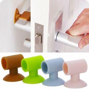 Door Handle Crash Pad Rubber Knob Lock Bumper Guard Stopper Mute Silencer Door