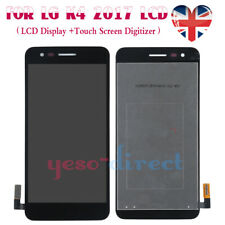 for LG K4 2017 M160 Screen Replacement Display Touch LCD Digitizer Frame Black