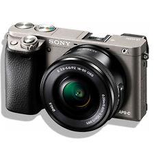 Sony Alpha 6000 Systemkamera A6000 + SEL-P1650 Kit 16-50mm Objektiv ^
