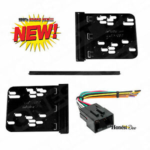 95-5817 Double Din Radio Install Dash Kit & Wires for Ford, Car Stereo Mount