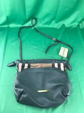 Burberry Little Crush Leather/House Check Crossbody Bag