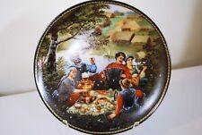 """A Celebration of Friendship"" Russian Plate, Bradex"