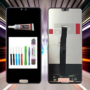 MS LCD Display passt für Huawei Ascend P20 EML-L09 EML-L22 Bildschirm Schwarz