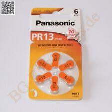 1 x PR13 Hörgeräte Batterie hearing aid battery PR48 Panasonic  1pcs