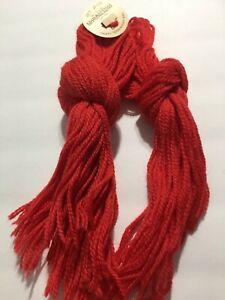 Wool Paternayan yarn virgin wool 40 yard cut hanks  Red 972 - 9