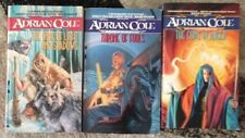 LOT 3 PB Adrian Cole ,King Of Light And Shadows,Throne Of Fools,Gods In Anger