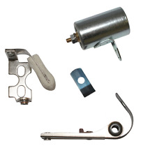 SOLEX SET CAPACITOR CONDENSER + CONTACT BREAKER POINTS CLUTCH IGNITION RUN 3800