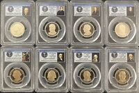 2007S & 2013S PRESIDENTIAL SERIES PCGS PR69DCAM AS PICTURED *NICE SETS*