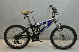 "2010 Trek MT60 20"" Kids MTB Bike Small Shimano SIS V-Brakes 6S Steel USA Charity"