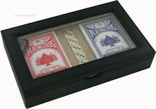 2 Decks of Playing Poker Cards + Dice Travel Set Gift Boxed Great for the Races