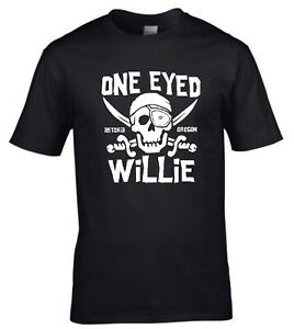 One Eyed Willie The Goonies 80s Cult Movie T-shirt