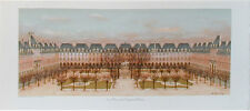 ANDRE RENOUX- PARIS PLACE DES VOSGES-ORIGINAL LITHOGRAPH ARCHES 1978
