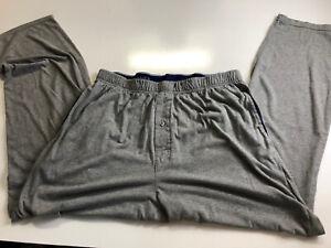 Hanes Men's Blue Lounge Pajama Pants Large Pockets Pre-owned