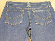 064 WOMENS BETTINA LIANO BLUE JEANS SZE 32 SHT EX-COND, $210 RRP.