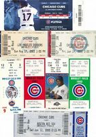 Chicago Cubs Tickets Stubs Wholesale Lot of 25+Tickets & Stubs Wrigley Field