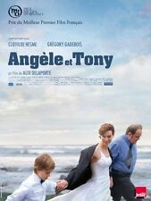 Affiche 40x60cm ANGELE ET TONY 2010 Clotilde Hesme, Gregory Gadebois NEUVE