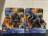 GODZILLA VS. KONG Playmates Hong Kong Battle Set - Godzilla And King Kong