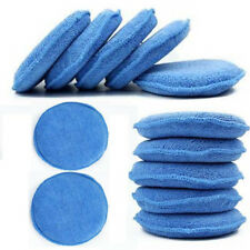 "12PCS 5"" Microfiber Foam Sponge Polish Wax Applicator Car Detailing Cleaning Pad"