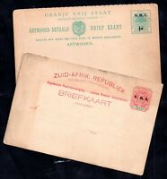 South Africa Postal Stationery x 2 WS16464