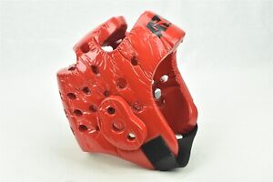 ATA Macho Red Foam Headgear Protector Taekwondo Martial Arts Sparring Size