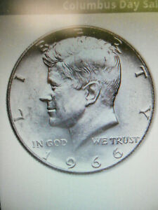 (3) 1996 Kennedy Half Dollars Fine Condition 40% Silver (no nicks or scratches)