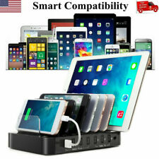 7-Port USB hub Charging Dock Station Charger Stand organizer -Tablet/iPAD/Phone