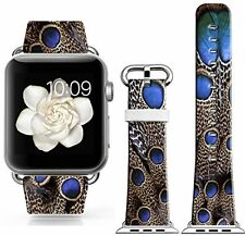 Apple Iwatch Band , Genuine Leather For Apple Watch 38Mm Strap Replacement