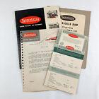 1952 Simplicity Letter, Owner Manual & Sickle Bar Instruction, Repair Part List