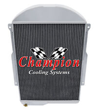 3 Row BC Champion Radiator for 1939 Chevrolet JA Master Deluxe L6 Engine