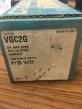 Cadweld VGC2G (2/0 to steel surface)